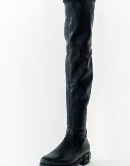 Черни чизми Sara Pen