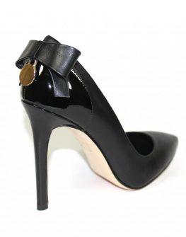 Високи стилни обувки с панделка - Sara Pen