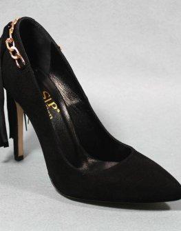 Стилни обувки с ресни Sara Pen