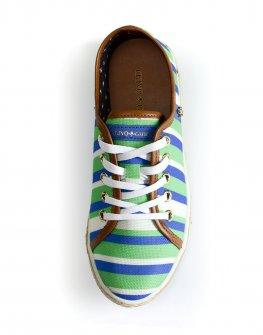 Ежедневни обувки в зелено Cravo & Canela