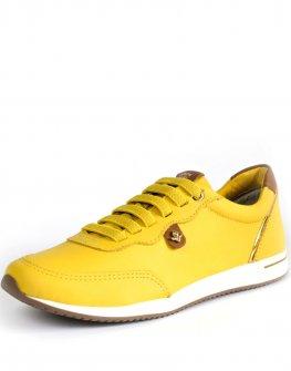 Жълти спортни обувки Cravo & Canela