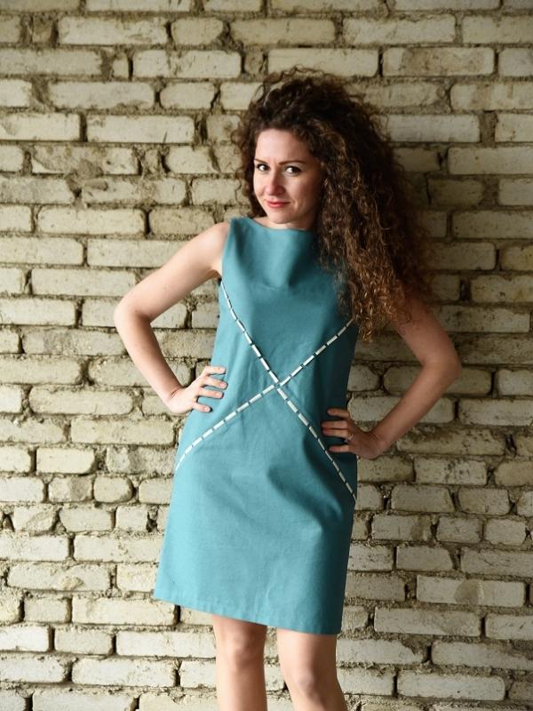 Бутикова рокля Amploa Atelier