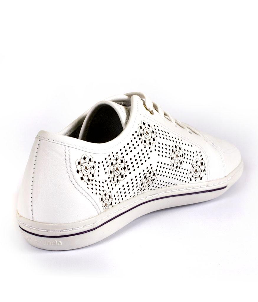 Спортни обувки в бяло Cravo & Canela