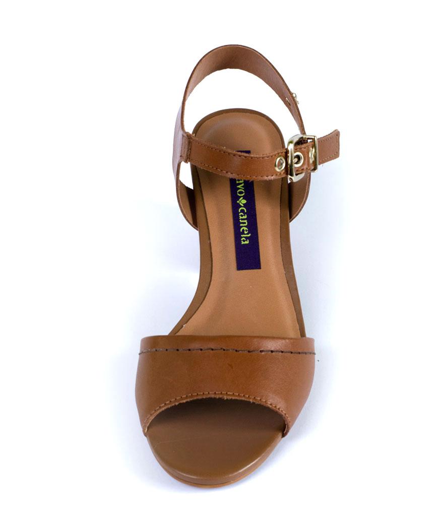 Дамски сандали в кафяво Cravo & Сanela
