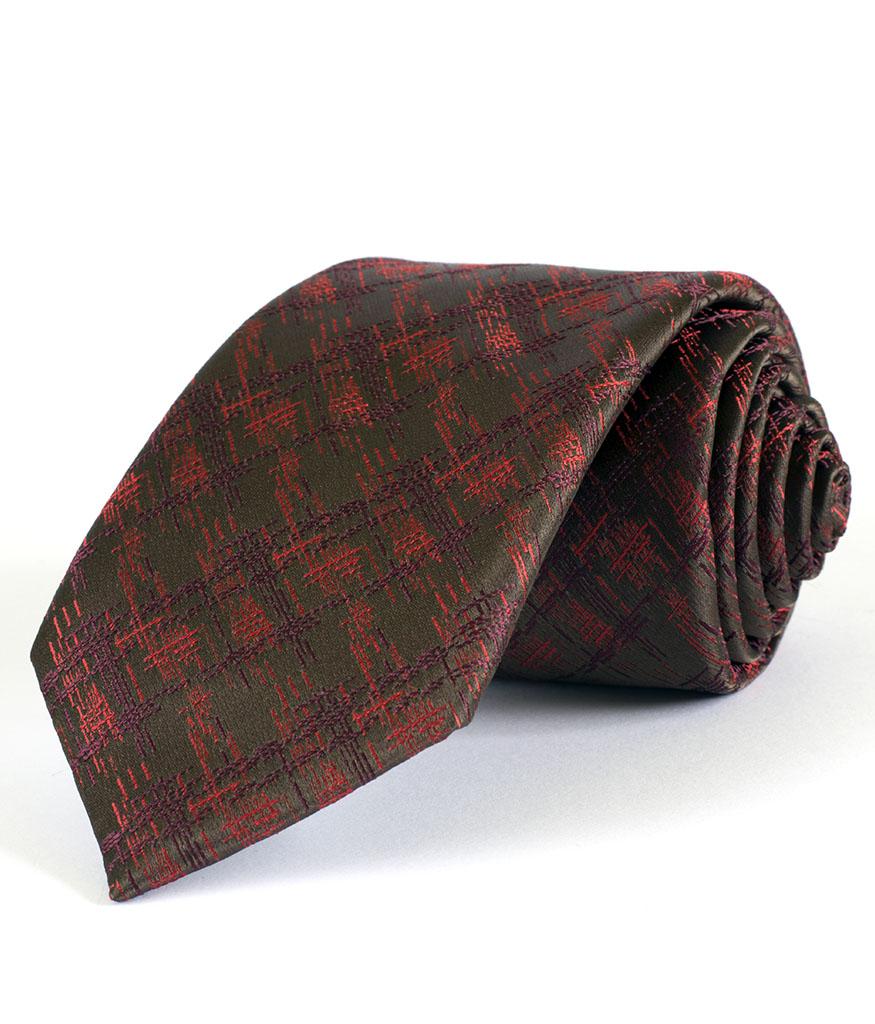 Стилна мъжка вратовръзка с интересен десен New Style