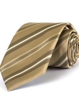 Мъжка вратовръзка в златисто New Style