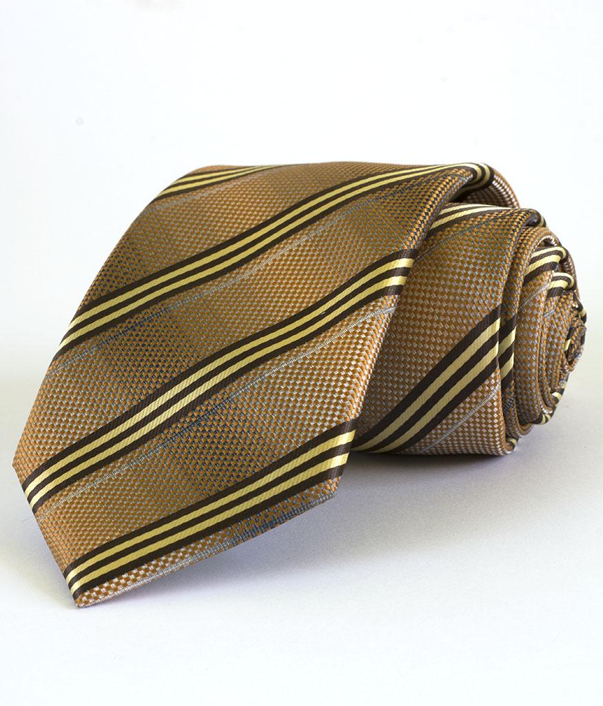 Стилна мъжка вратовръзка в райе New Style