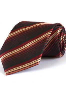 Елегантна мъжка вратовръзка New Style в стилно райе