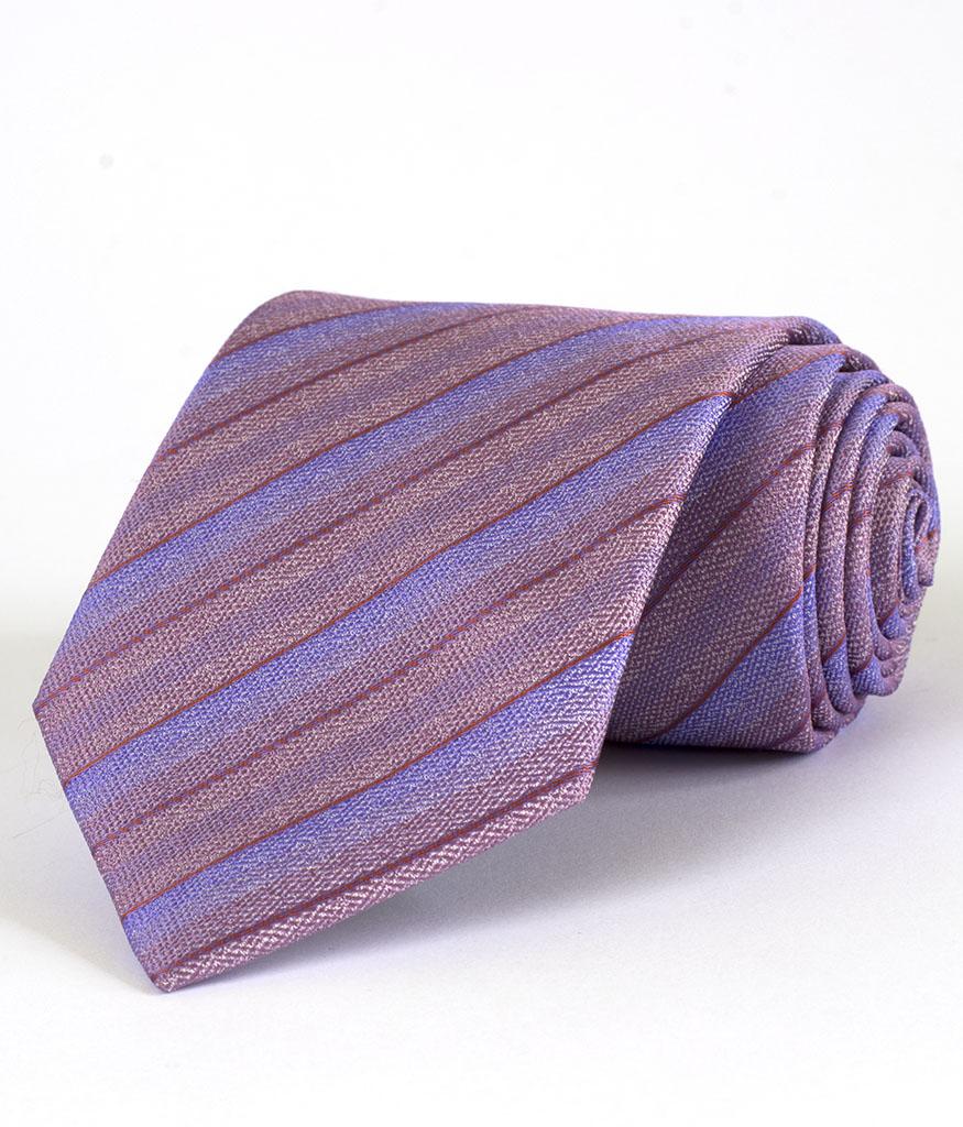 Мъжка вратовръзка New Style в красиво райе