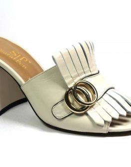 Дамски чехли от естествена кожа Sara Pen2