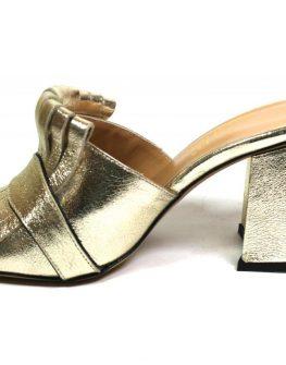 Дамски чехли от естествена кожа Sara Pen