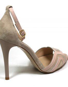 Дамски сандали в розово Sara Pen
