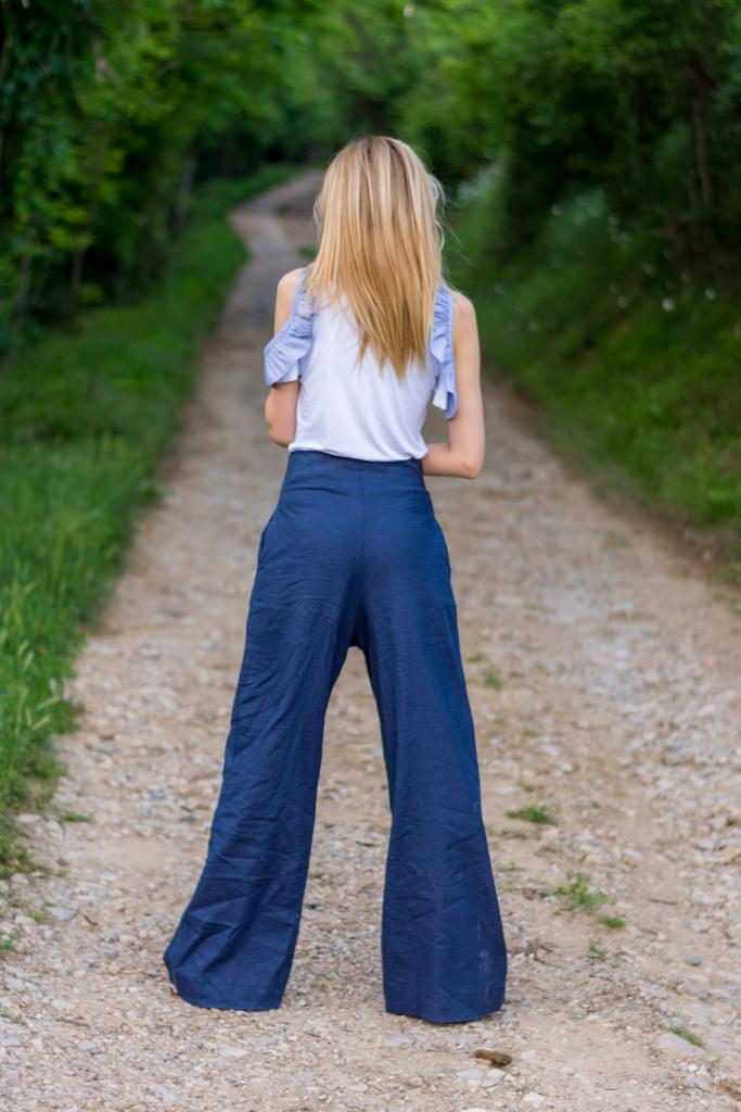 Дамска дизайнерска блуза с къс ръкав La Speciale