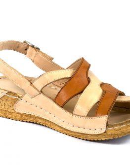 Удобни дамски сандали с ортопедична подметка
