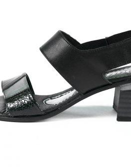 Удобни дамски сандали Balis в черен десен