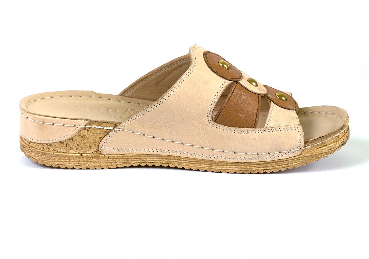 Дамски чехли с ортопедична подметка Crea
