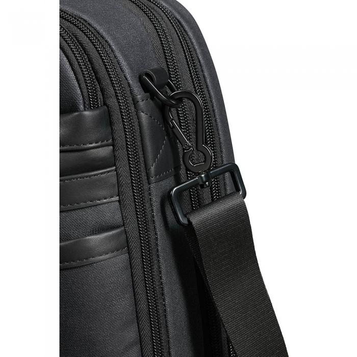 Бизнес чанта за 39,6cm/15.6″ Zenith с възможност за разширение черен цвят