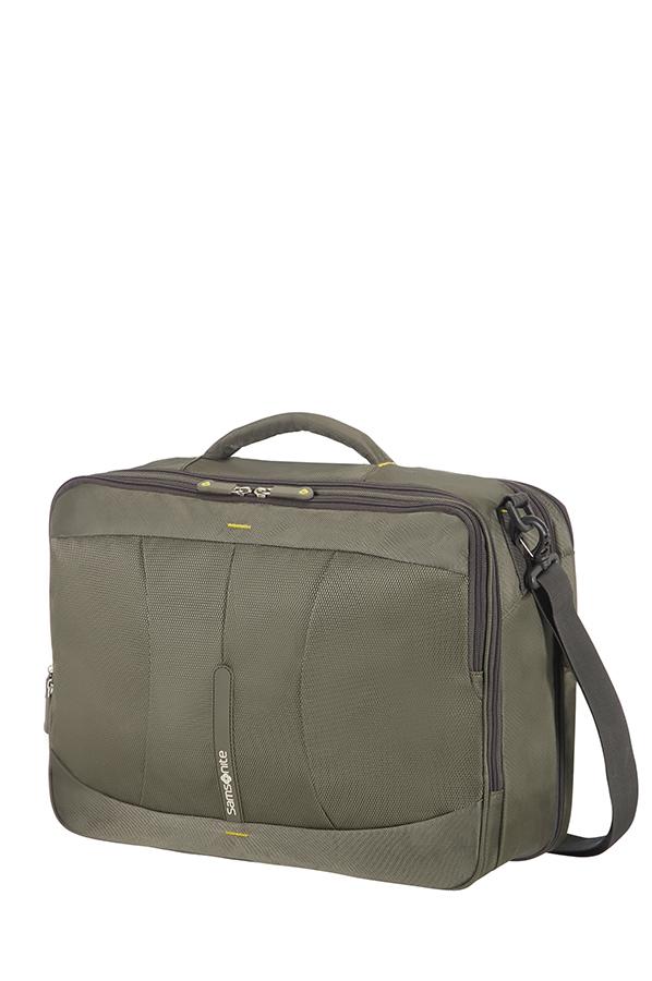 Раница и чанта за рамо 4Mation с разширение зелено/жълтоРаница и чанта за рамо 4Mation с разширение зелено/жълто