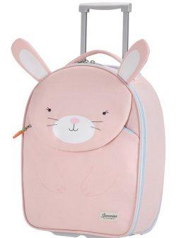 Новата колекция детски ранички, несесери и куфари Happy Sammies ще ви изненадат със симпатични изображения на пухкави животни. Заек, Лисица, Мече и Коте ще придружават малчуганите във всяко тяхно пътуване, детска градина или училище.