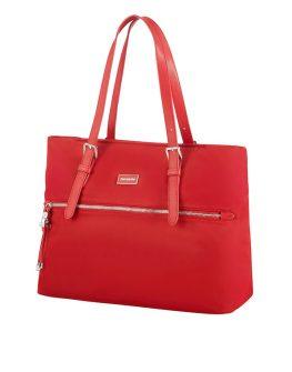 Червена дамска чанта Karissa размер M