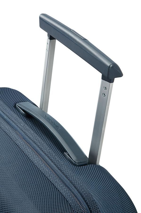 Куфар на 2 колела 55cm с разширение Fuze тъмно син цвят