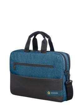 Чанта за лаптоп 15.6inch City Drift черен/син цвят