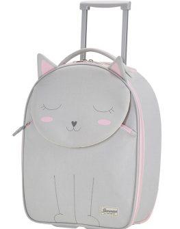 Детски куфар на 2 колела 45 см Коте