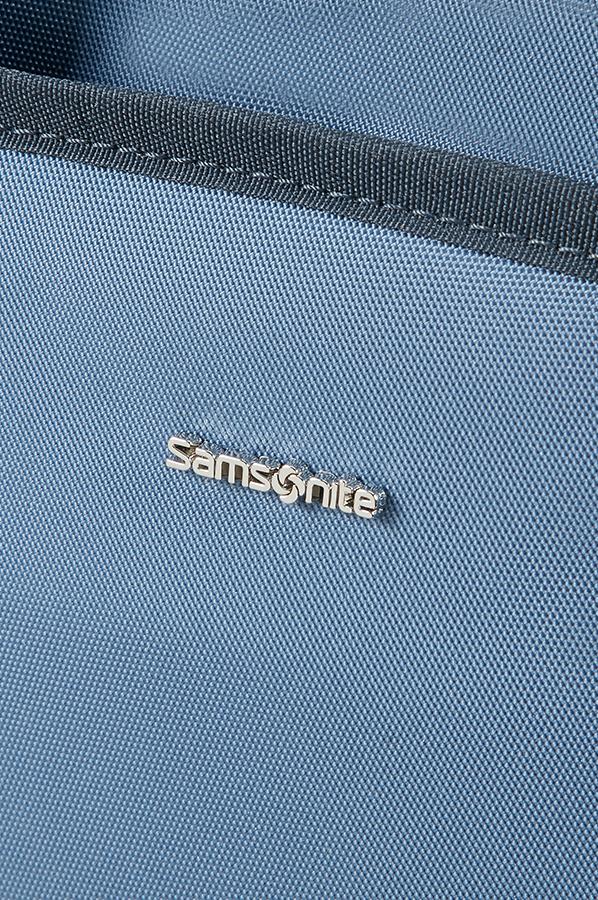 Nefti Дамска бизнес чанта за 39.6cm/15.6″ лаптоп светло и тъмно син цвят