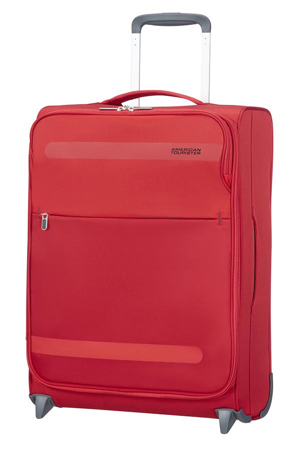 American Tourister червен куфар на 2 колела Herolite 55 см