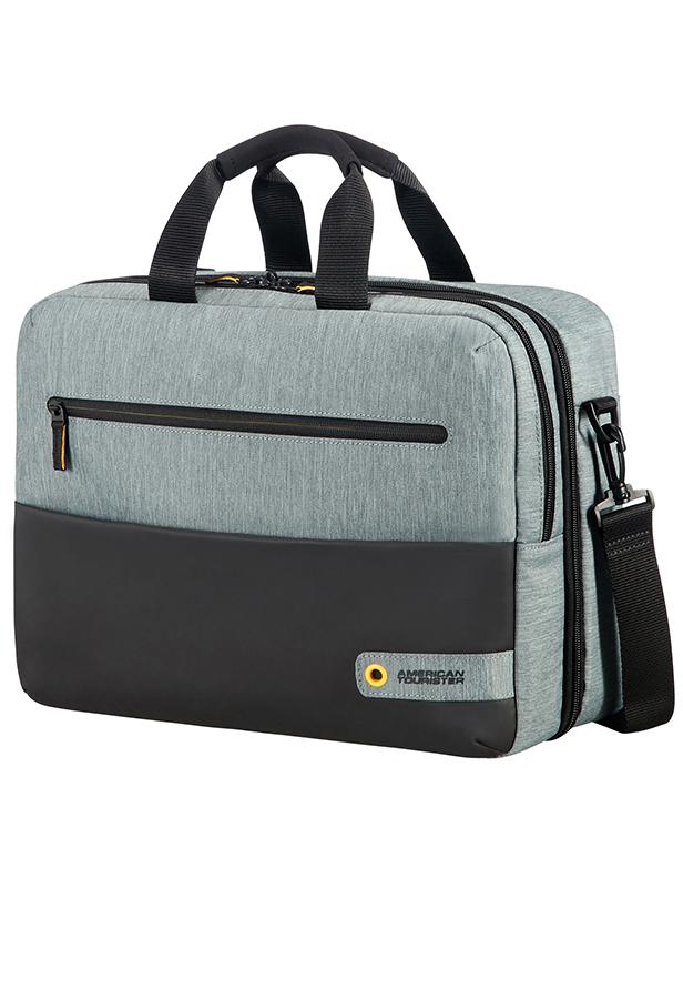 Бордна чанта с отделение за лаптоп 15.6inch City Drift черен/сив цвят