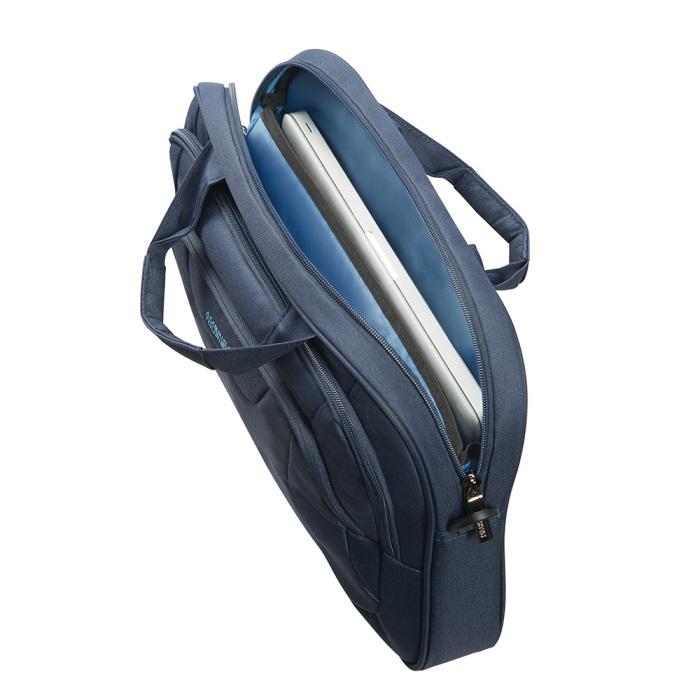 Чанта за 15.6″ лаптоп At Work тъмно син цвят