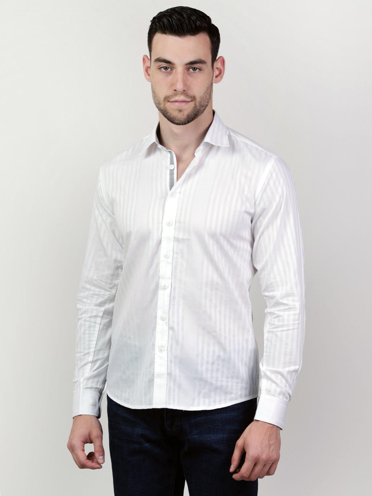 Класическа бяла риза