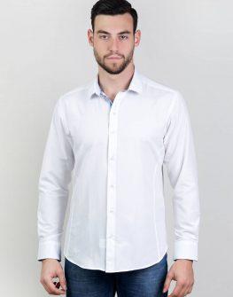 Елегантна мъжка блуза с акценти