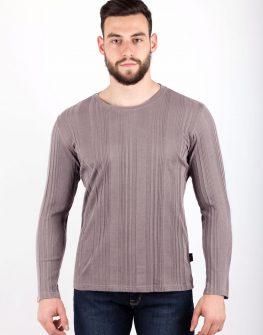 Мъжка блуза в светло сиво