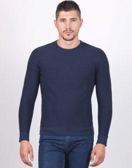 Пуловер STYLER в тъмно синьо