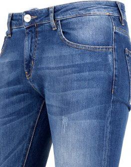 Мъжки дънки със скъсан ефект