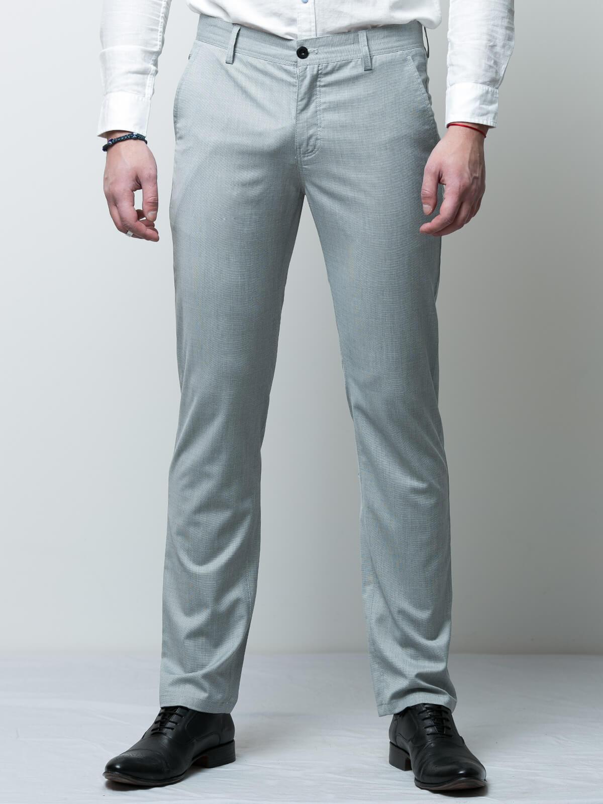 Елегантен мъжки панталон в светли тонове