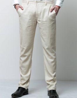 Ленен мъжки панталон