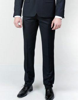Официален мъжки панталон в тъмно синьо