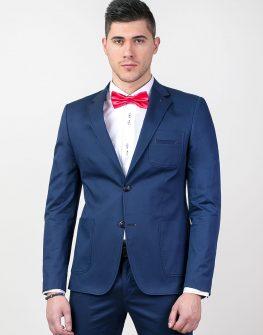Елегантно сако в тъмно синьо