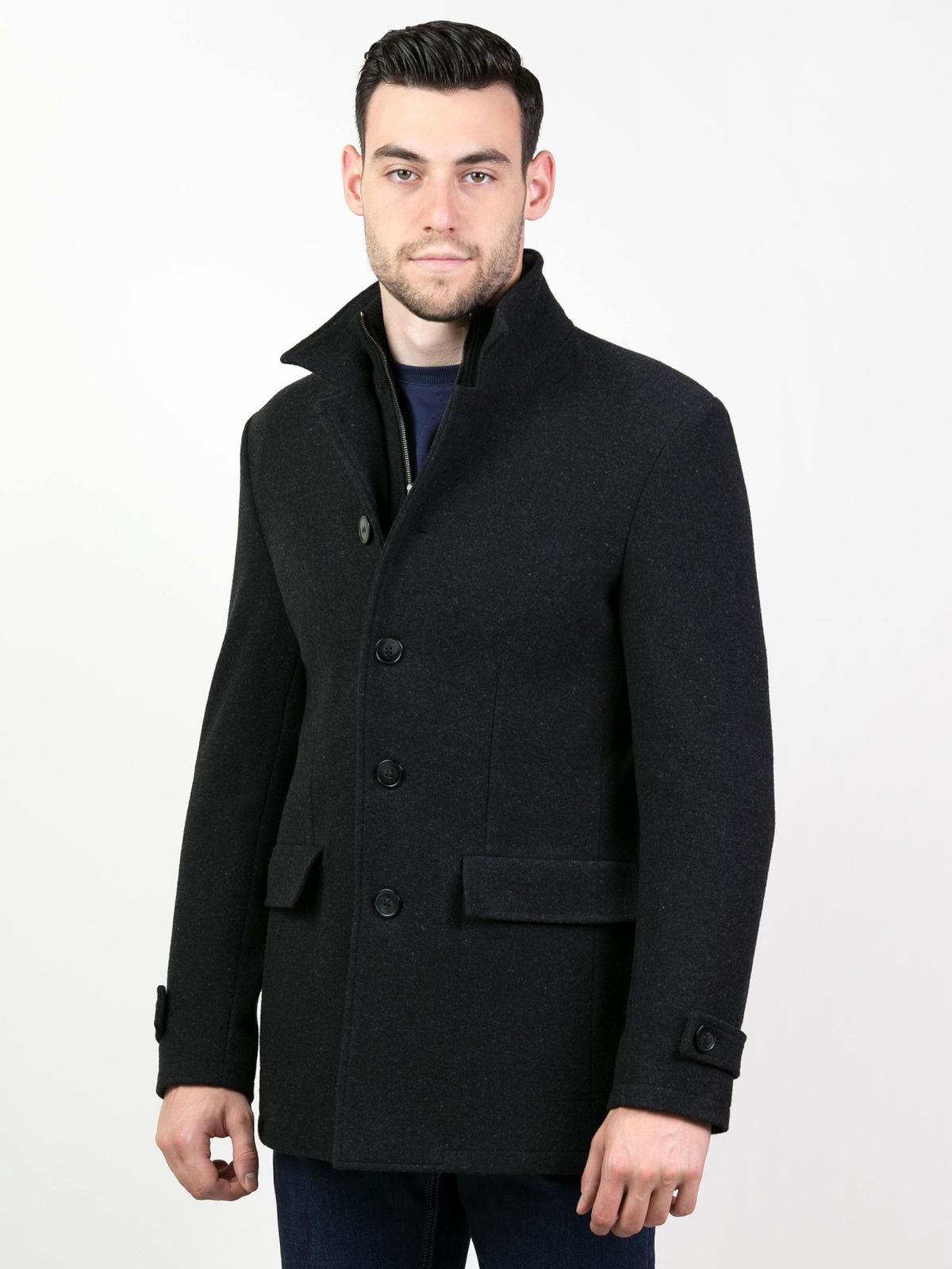 Зимно мъжко палто