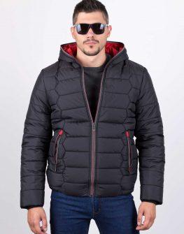 Мъжко яке зима черно