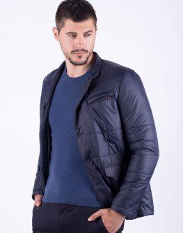 Тъмно синьо яке тип сако