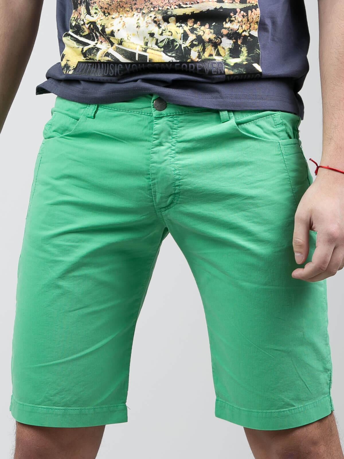 Къс светло зелен панталон