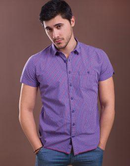 Лятна риза в лилаво