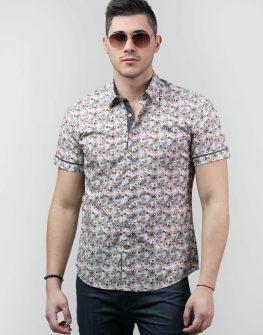 Риза с принт на цветя