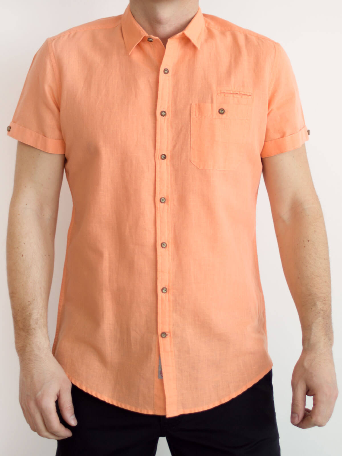 Лятна риза от лен