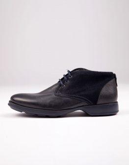 Тъмно сини мъжки обувки