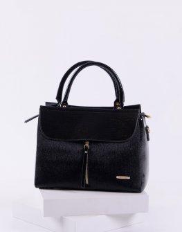 Елегантна дамска чанта в черен цвят Sara Pen