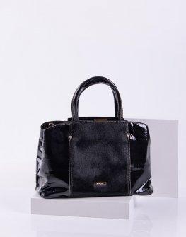 Елегантна дамска чанта от пони косъм Sara Pen